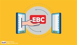 انتقال کد EBC کارت ویزیت الکترونیکی به کاربر دیگر